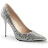 CLASSIQUE-20 Silver Glitter Lame